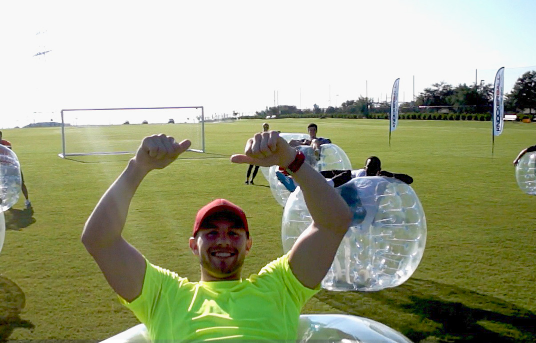 KnockerBall Chicago Bubble Soccer